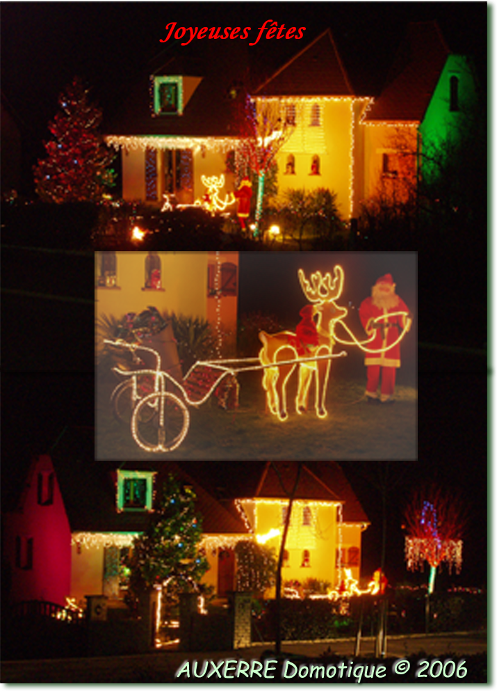 Photo illuminations Noel 2006