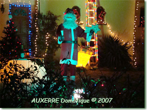 Photo illuminations de Noël 2007